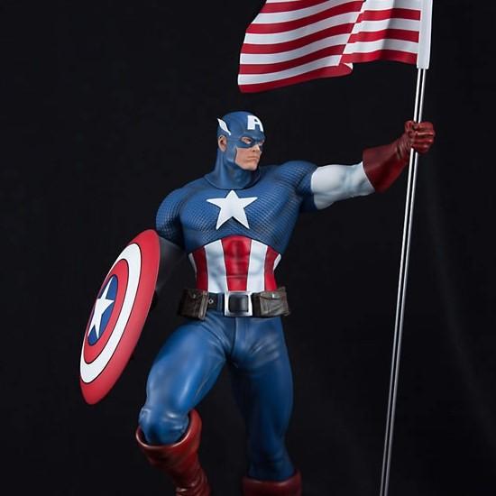 Captain America - Marvel Comics - 1/4 Scale Premium Statue