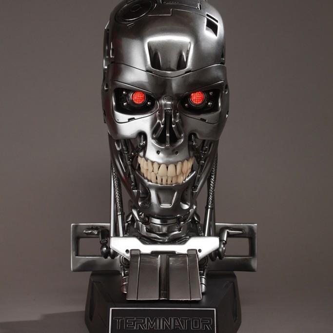 Endoskeleton Skull - Terminator Genisys - 1:1 Replica