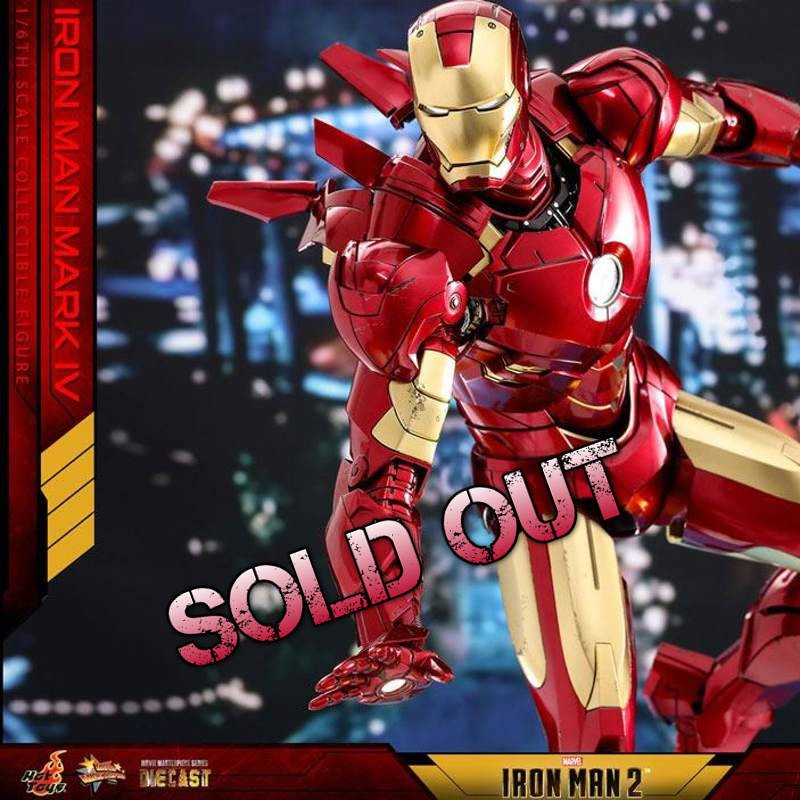 Iron Man Mark IV - Iron Man 2 - Diecast 1/6 Scale Figur