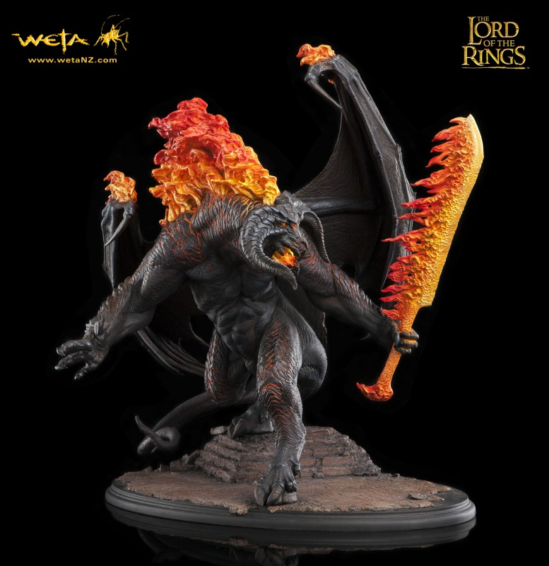 Balrog Demon of Shadow and Flame - Herr der Ringe - Statue