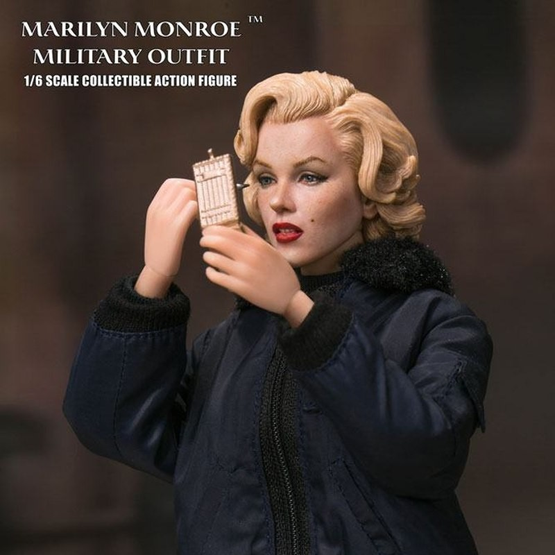 Marilyn Monroe Military Outfit - 1/6 Scale Actionfigur