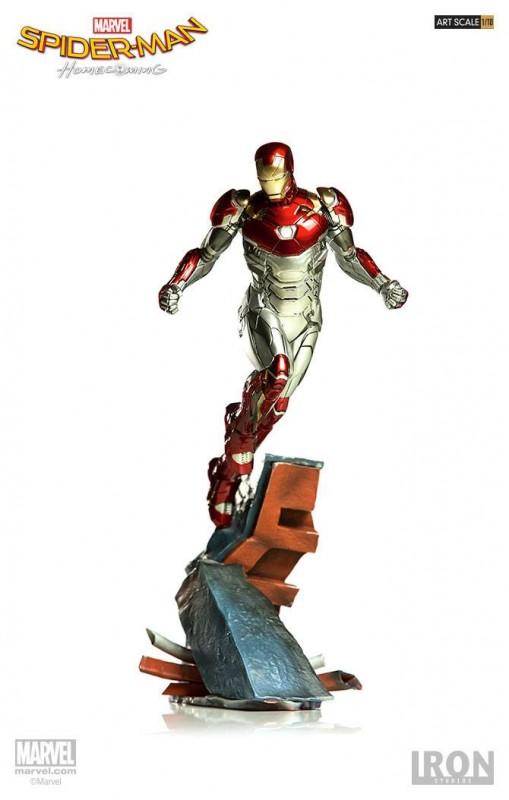 Iron Man Mark XLVII - Spider-Man Homecoming - 1/10 Scale Statue