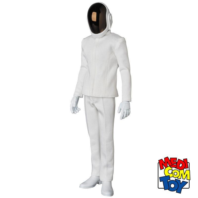 Guy-Manuel de Homem-Christo White Suit - Daft Punk - 1/6 Scale RAH Figur