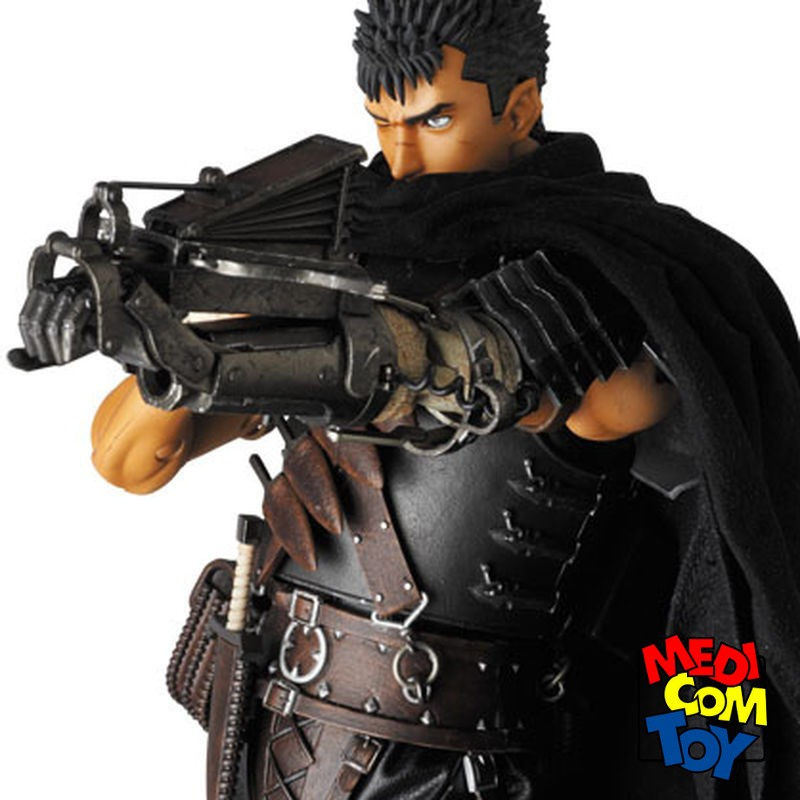 Guts Black Swordsman - Berserk Golden Age Arc - 1/6 Scale RAH Figur