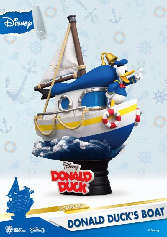 Donald Duck's Boot - D-Stage PVC Diorama 15 cm