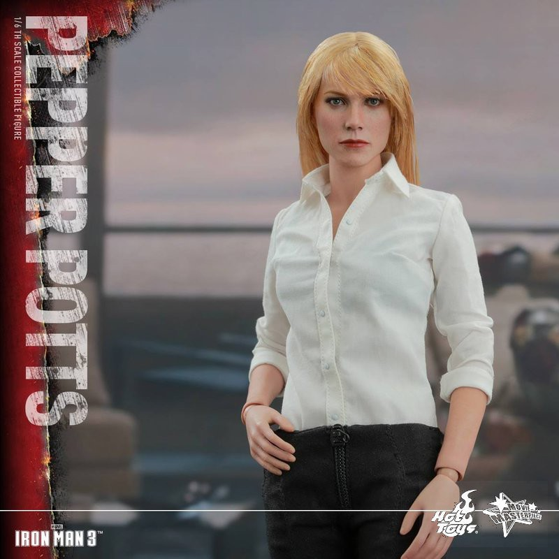 Pepper Potts - Iron Man 3 - 1/6 Scale Action Figur