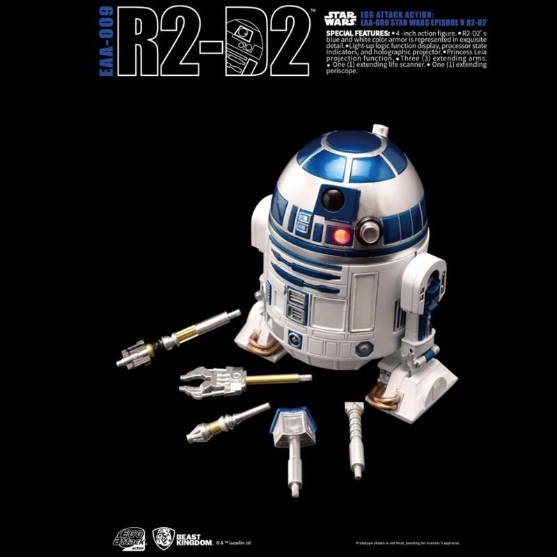 R2-D2 - Star Wars - Egg Attack Actionfigur