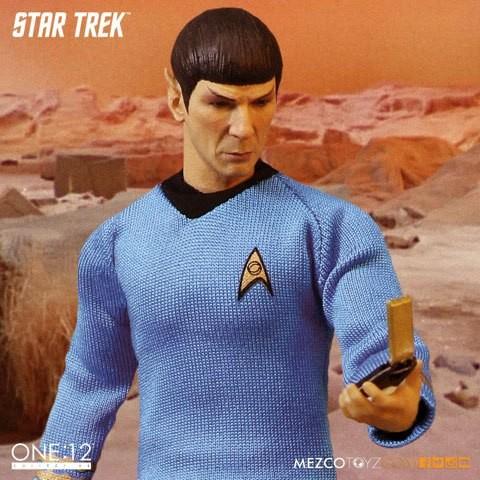 Spock - Star Trek - 1/12 Scale Figur