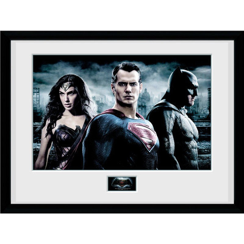 Batman v Superman Dawn of Justice - Poster im Rahmen
