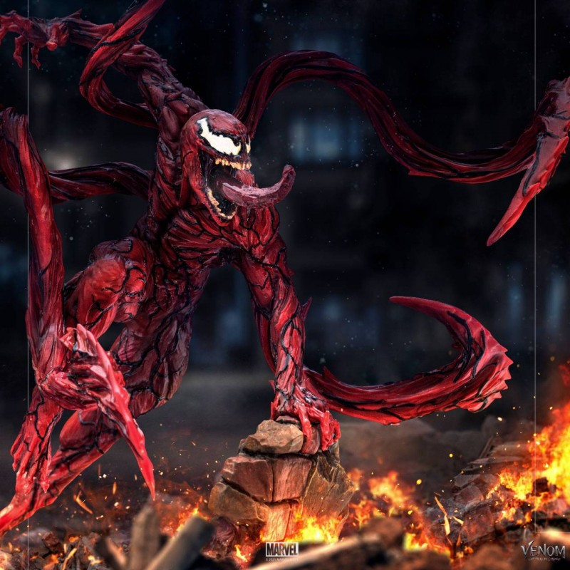 Carnage - Venom: Let There Be Carnage - 1/10 BDS Art Scale Statue