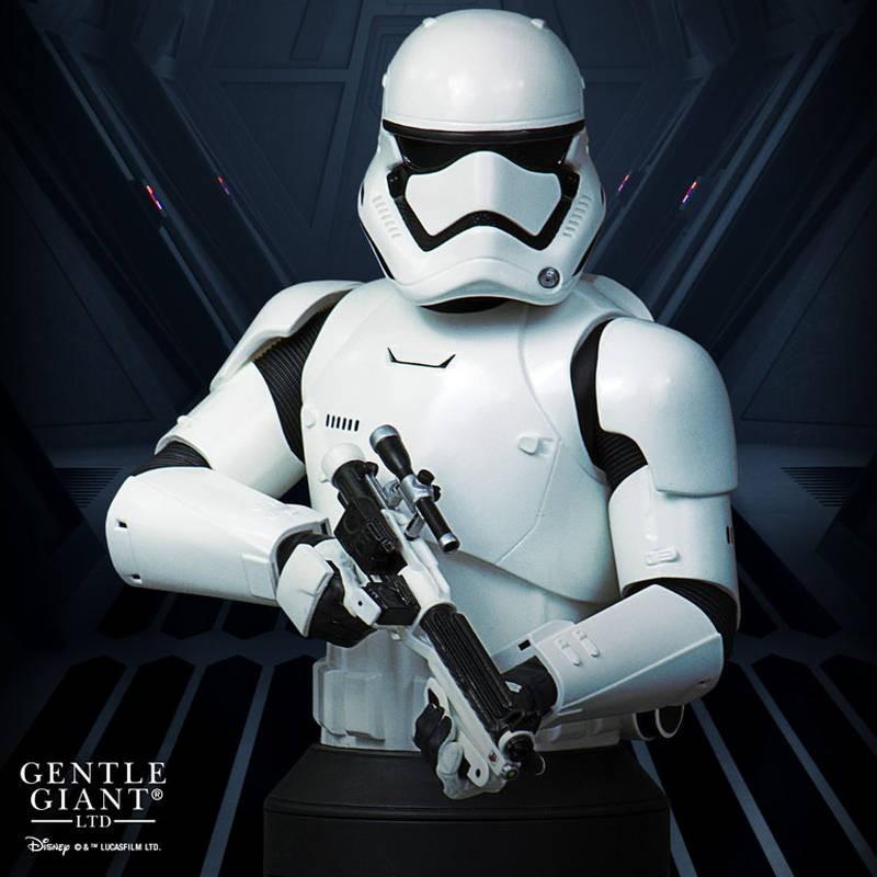 First Order Stormtrooper - Star Wars - Deluxe Büste 1/6