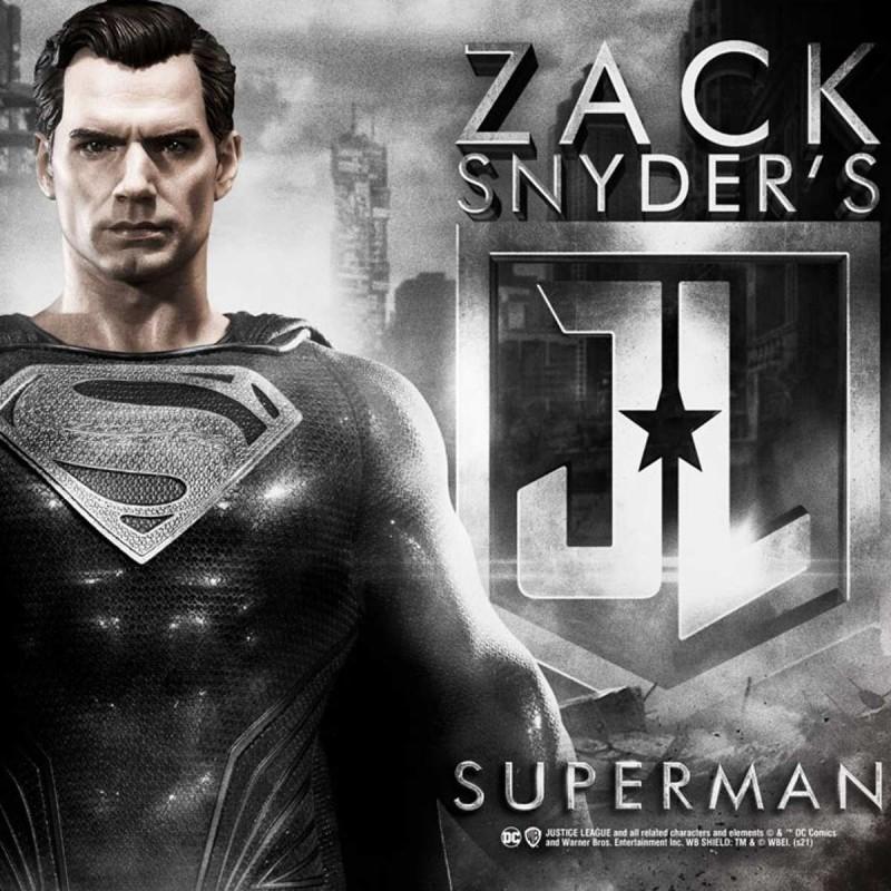 Superman Black Suit Edition - Justice League - 1/3 Scale Statue