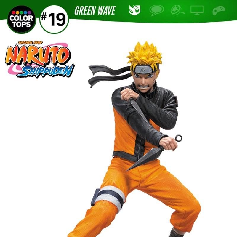 Naruto Uzumaki - Naruto Shippuden - Color Tops Actionfigur 18cm