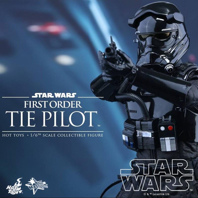 First Order TIE Pilot - Star Wars - 1/6 Scale Figur