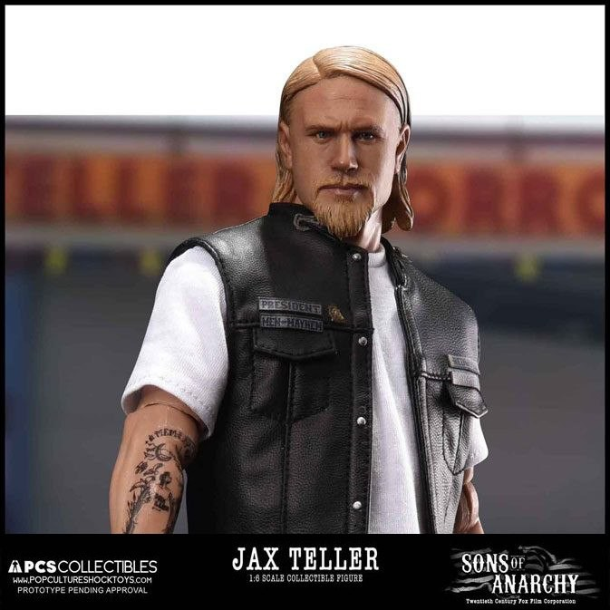 Jax Teller - Sons of Anarchy - 1/6 Scale Actionfigur