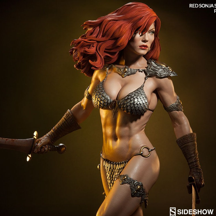 Red Sonja She-Devil with a Sword - Premium Format Statue