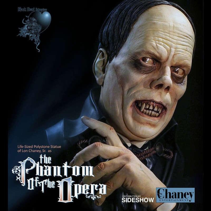 Lon Chaney Sr. - Das Phantom der Oper - Life Size Büste