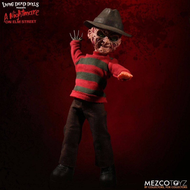 Freddy Krueger - Nightmare on Elm Street - Living Dead Dolls Puppe 25cm