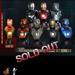 Iron Man 3 - Collectible Bust Set II - 1/6 Scale