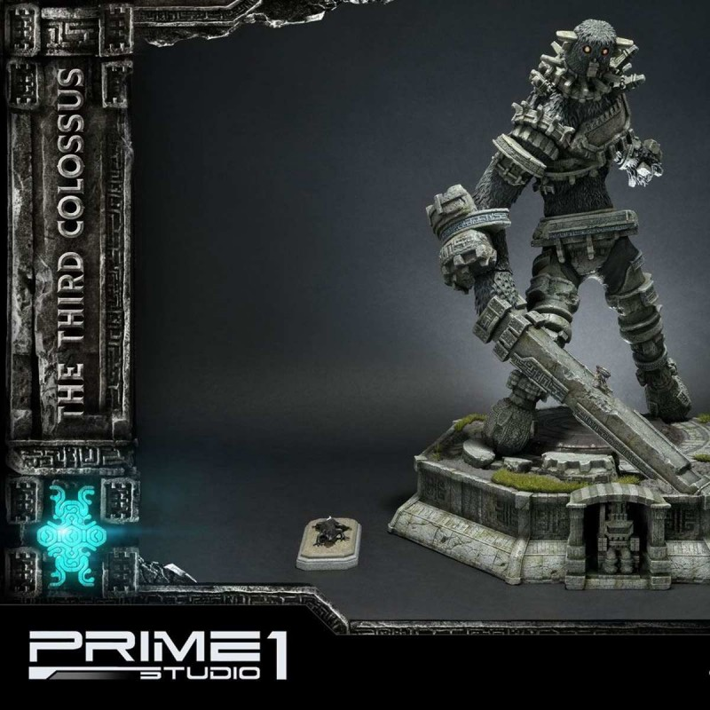 The Third Colossus Exclusive - Shadow of the Colossus - Polystone Statue