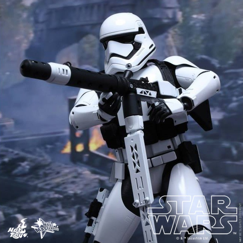 First Order Heavy Gunner Stormtrooper - Star Wars - 1/6 Scale Figur