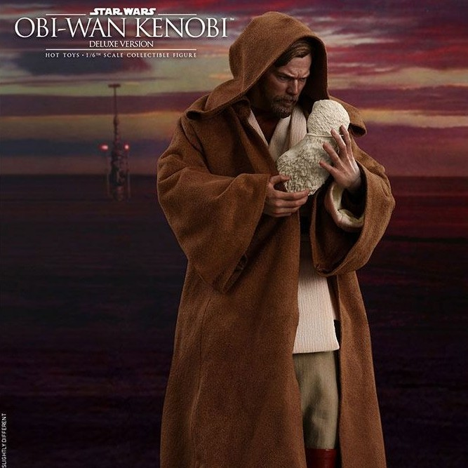 Obi-Wan Kenobi Deluxe Version - Star Wars Episode III - 1/6 Scale Figur