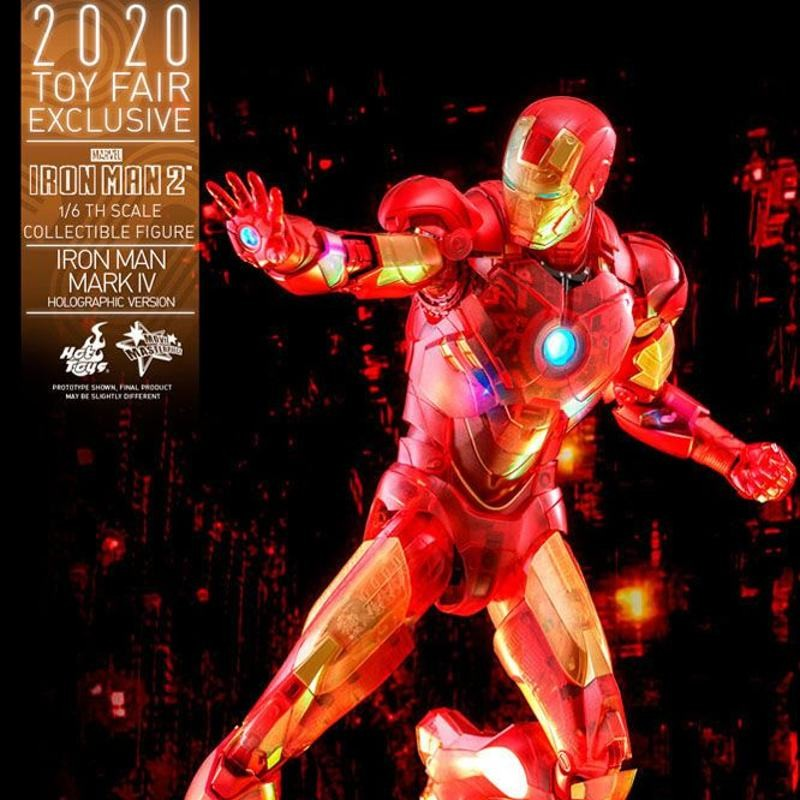 Iron Man Mark IV (Holographic Version) - Iron Man 2 - 1/6 Scale Figur
