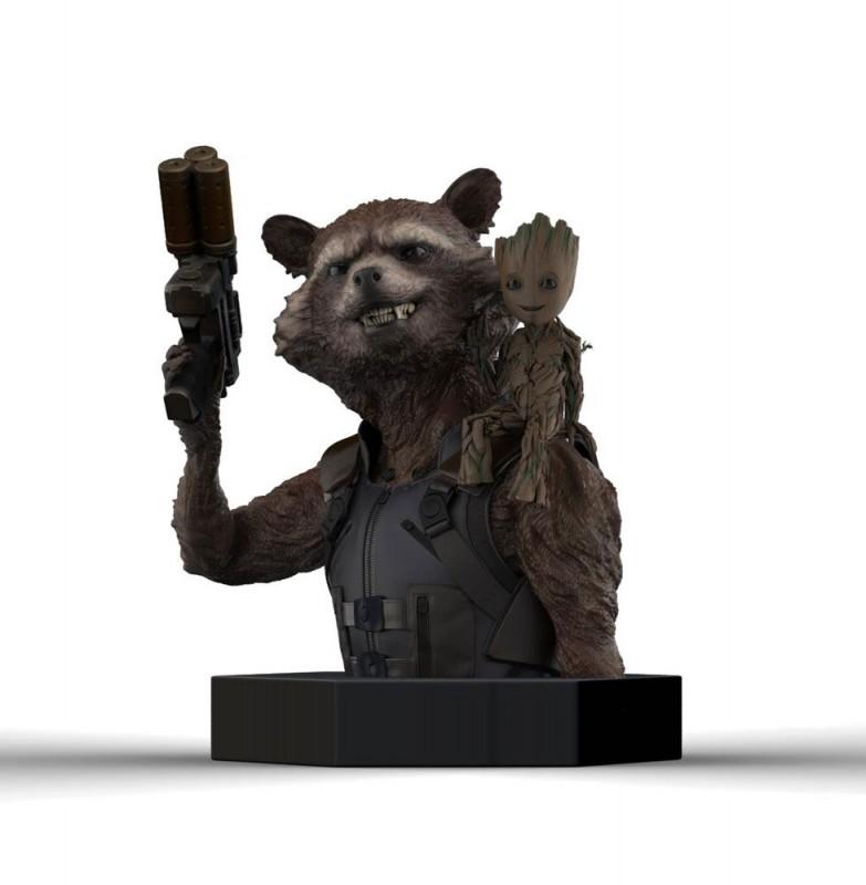 Rocket Raccoon & Groot - Guardians of the Galaxy Vol. 2 - 1/6 Scale Büste