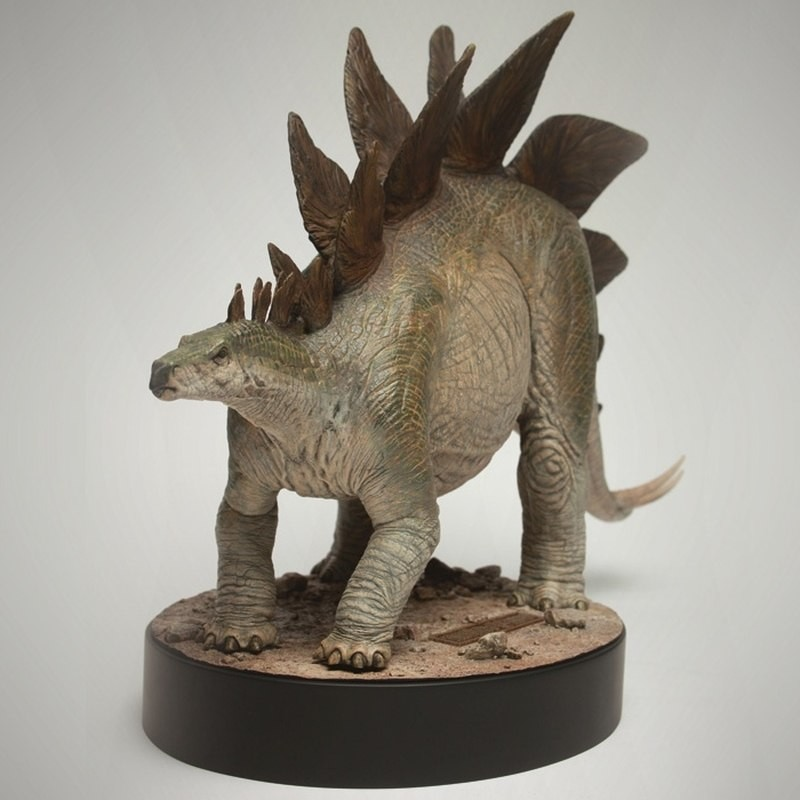 Stegosaurus - Jurassic Park - Polystone Maquette
