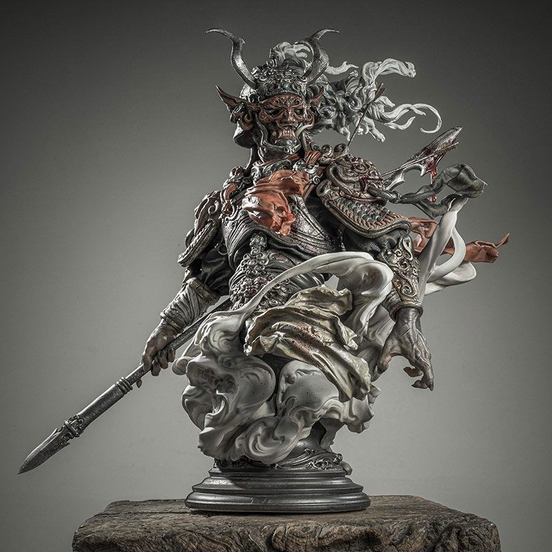 Di Qing - Zhelong Xu ( Guang Shu ) x Manas - SUM Divinity Collection Statue