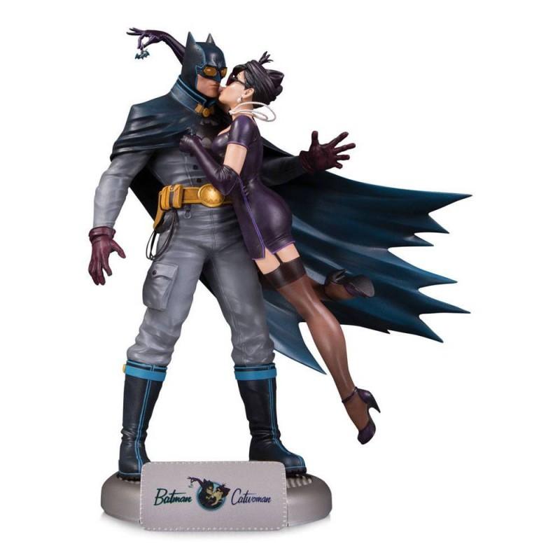 Batman & Catwoman - Bombshells Deluxe - Polystone Statue