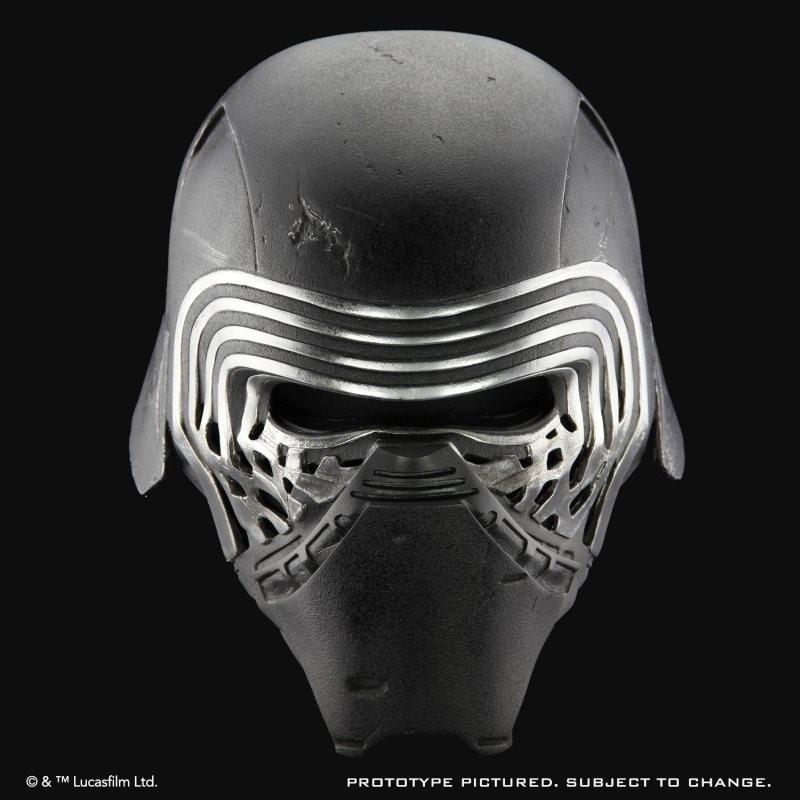 Kylo Ren Helm Standard Version - Star Wars - 1/1 Replik