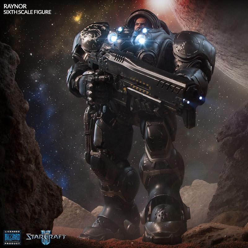 Jim Raynor - Starcraft II - 1/6 Scale Figur