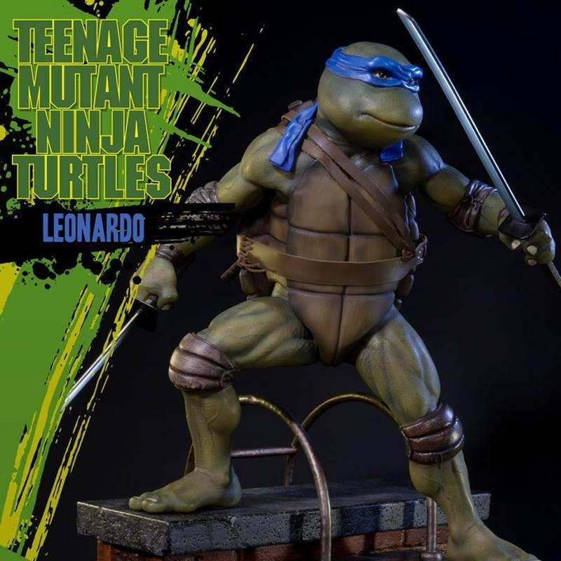 Leonardo - TMNT - Polystone Statue