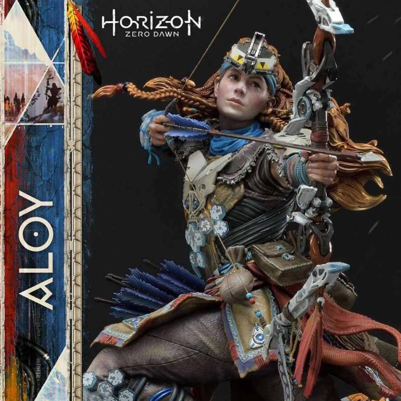 Aloy Shield Weaver Armor Set - Horizon Zero Dawn - 1/4 Scale Polystone Statue