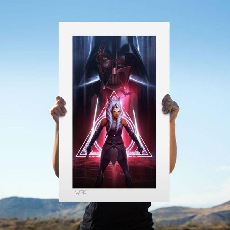 Ahsoka Tano: Between Worlds - Star Wars - Kunstdruck 66 x 46 cm