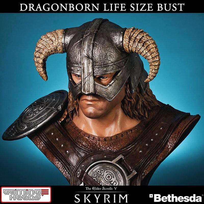 Dragonborn - The Elder Scrolls V Skyrim - 1/1 Büste