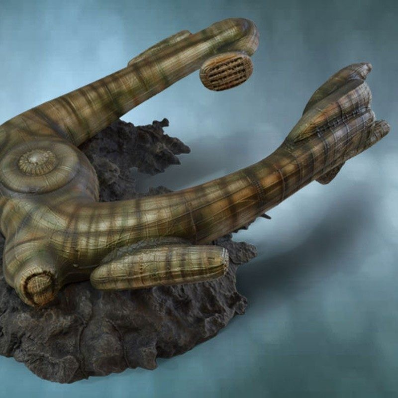 Derelict Ship - Alien - Polystone Replik
