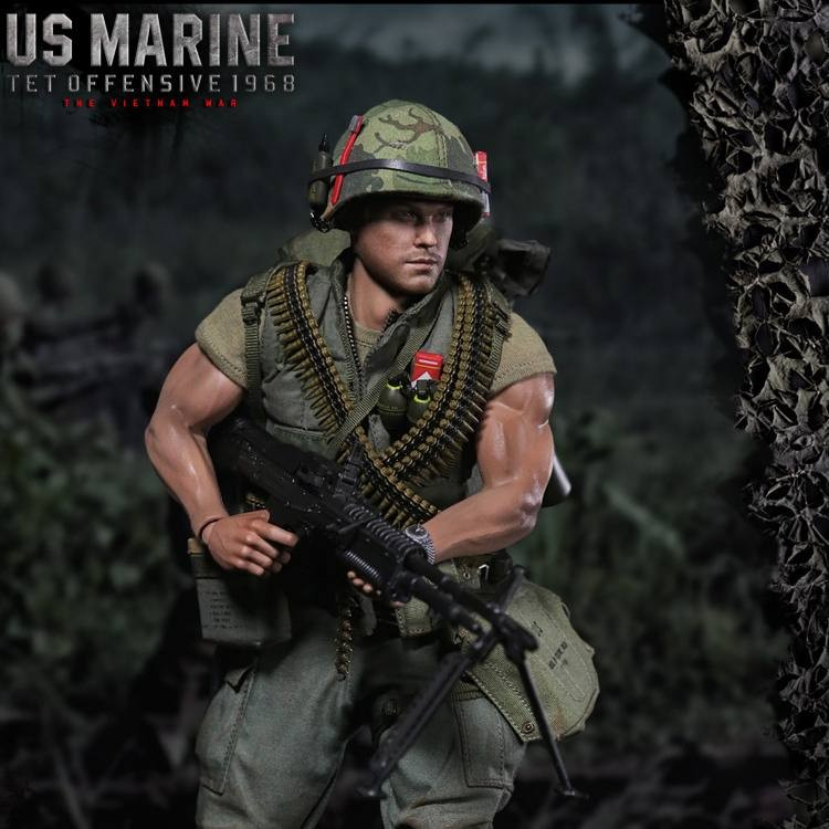 US Marine TET Offensive 1968 - 1/6 Scale Actionfigur
