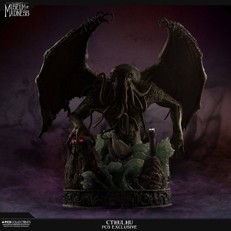 Cthulhu (Exclusive) - H.P. Lovecraft Museum of Madness - Polystone Statue