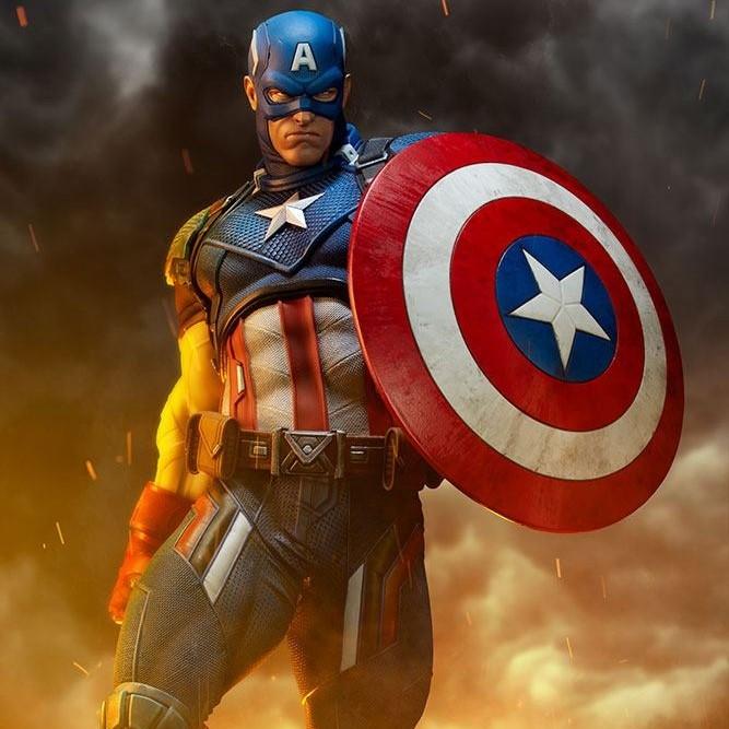 Captain America - Marvel Comics - Premium Format Statue