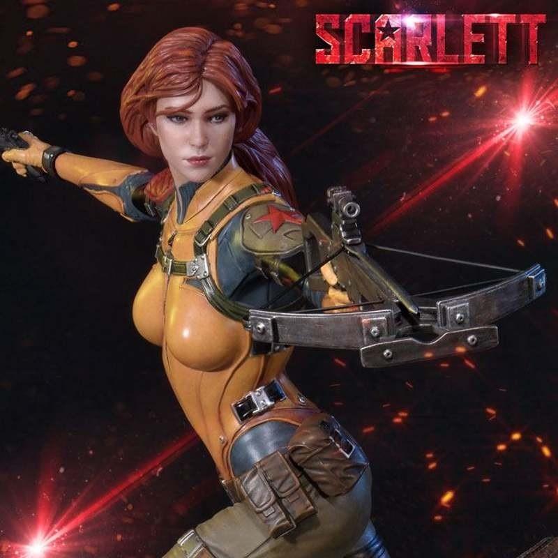 Scarlett - G.I. Joe - 1/4 Scale Statue