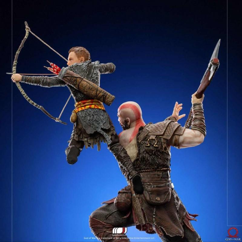 Kratos & Atreus - God of War - 1/10 BDS Art Scale Statue