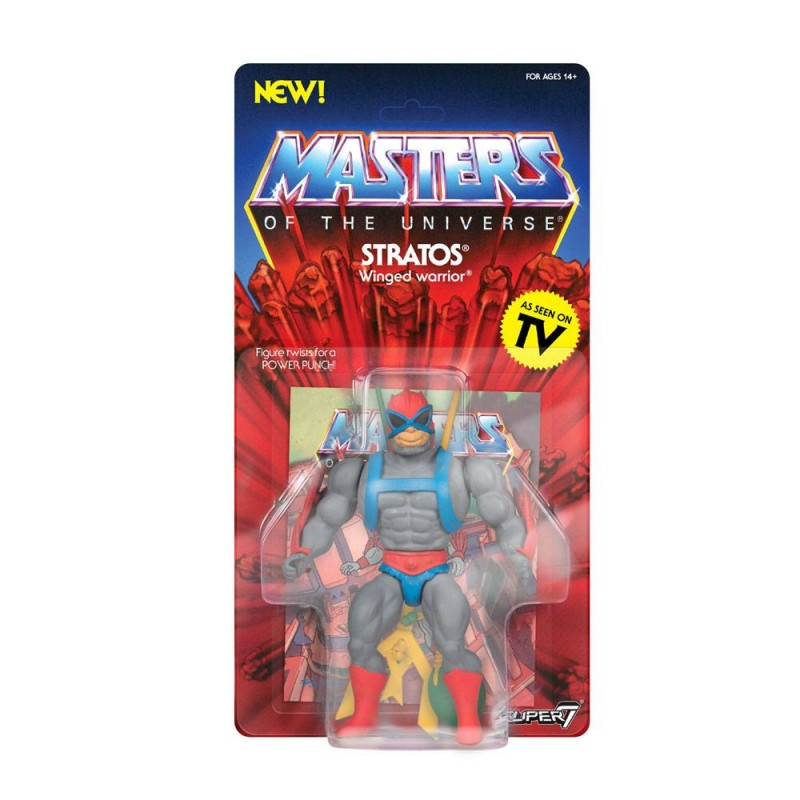 Stratos - Masters of the Universe - Vintage Collection Actionfigur 14cm