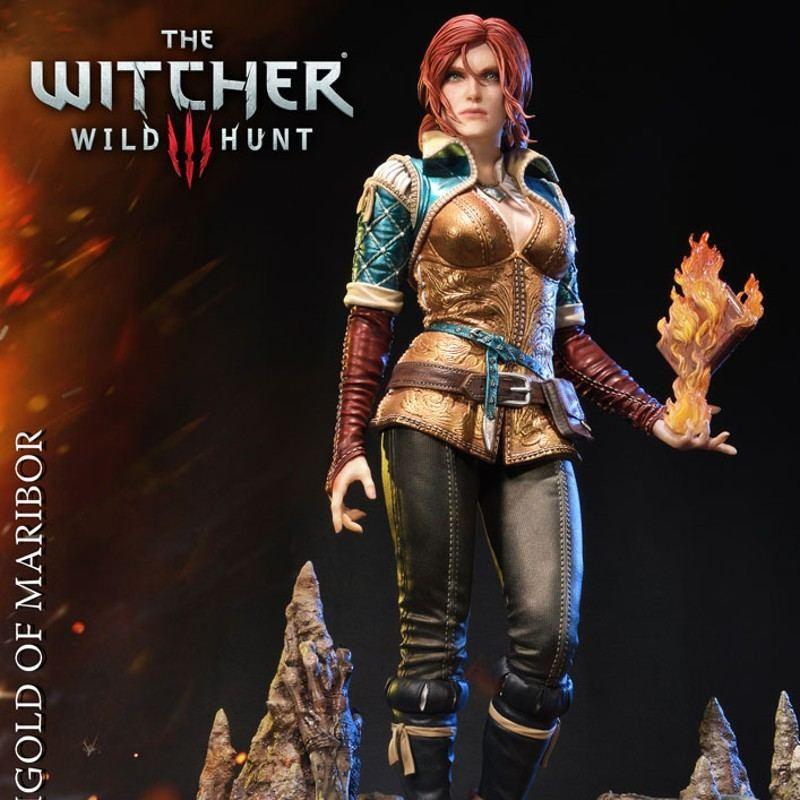 Triss Merigold - Witcher 3 Wild Hunt - 1/4 Scale Polystone Statue