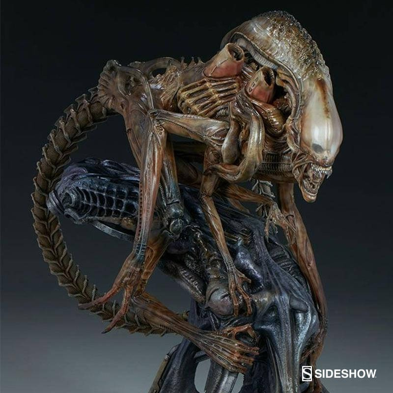 Alien Warrior Mythos - Alien - Maquette
