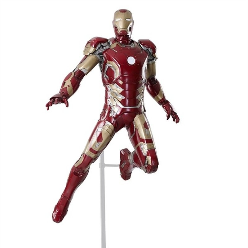 Iron Man schwebend - Avengers Age of Ultron - Life-Size Statue