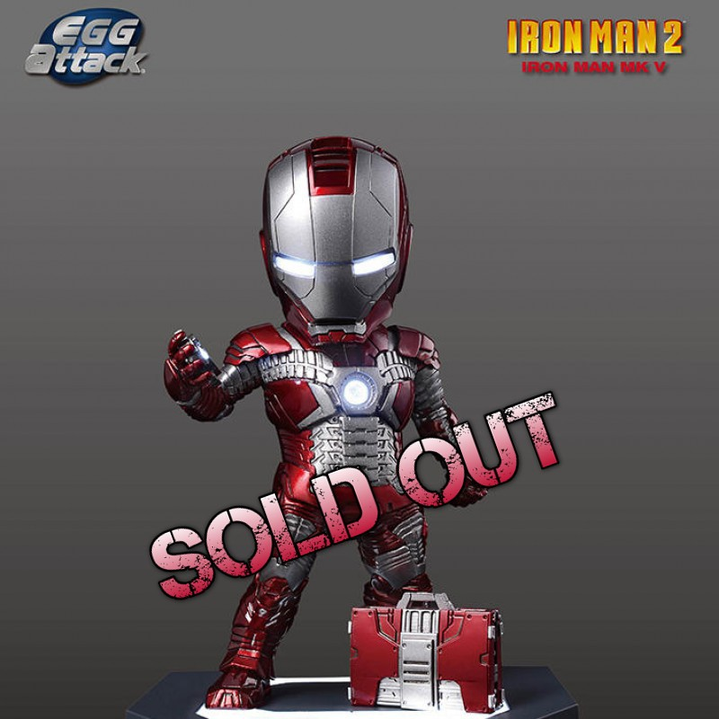 Mark 5 - Iron Man - Egg Attack Figur