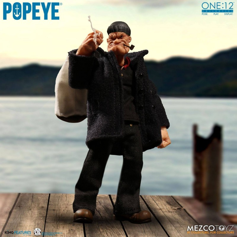 Popeye - Popeye - 1/12 Scale Figur