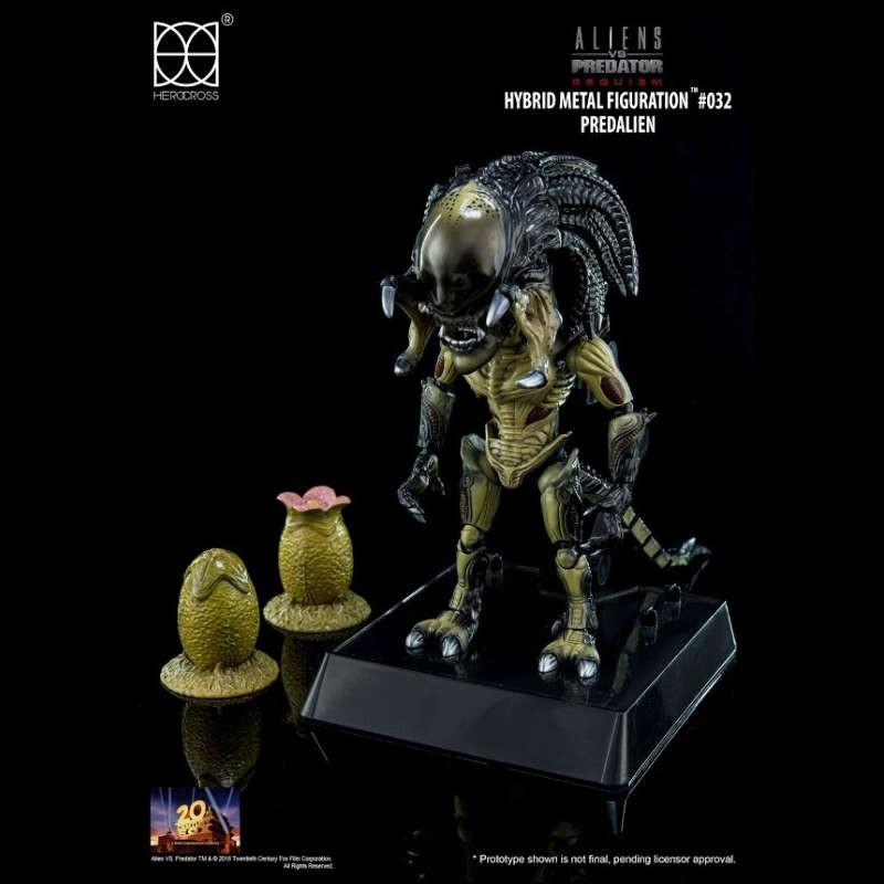 Predalien - Alien vs. Predator - Hybrid Metal Figuration